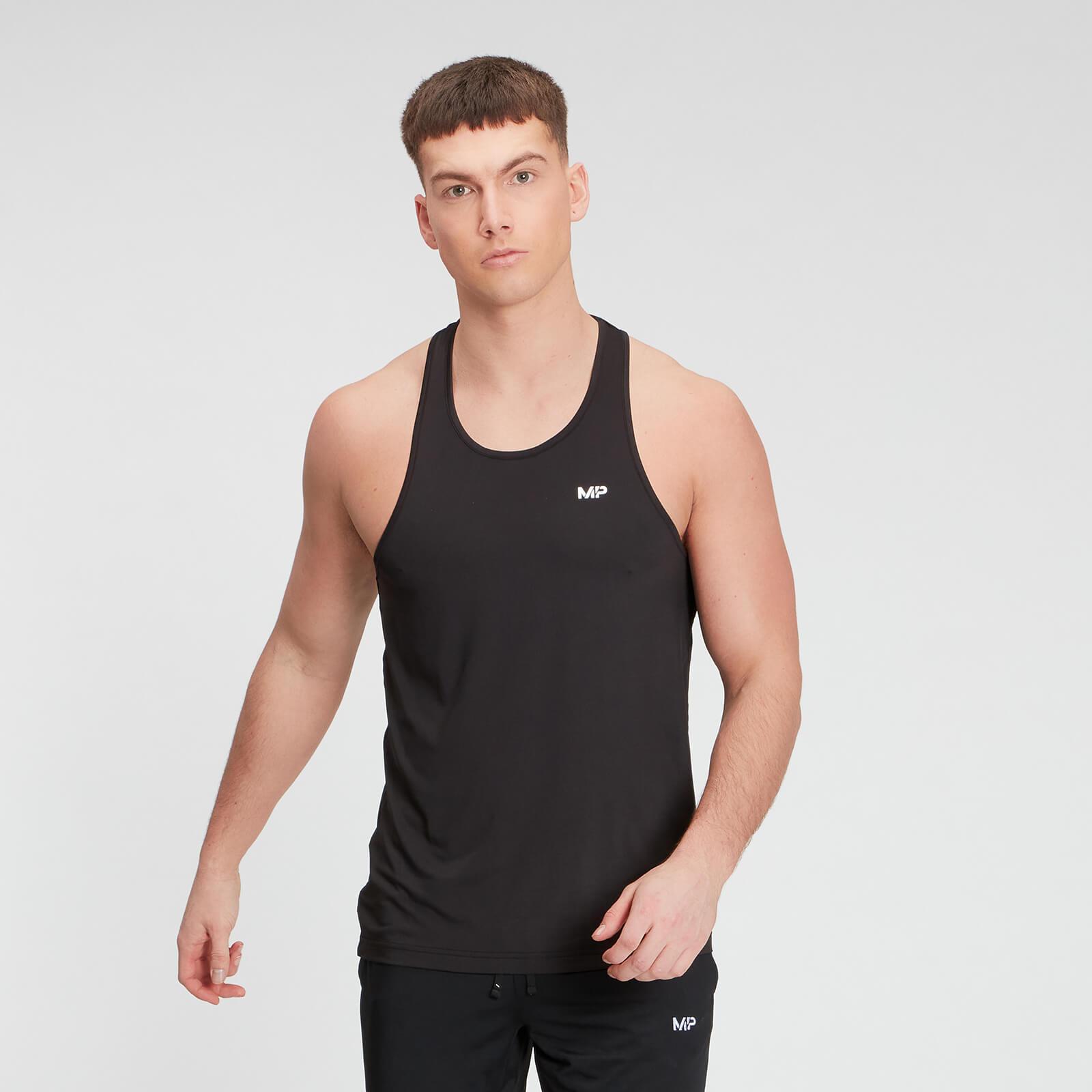 MP Men's Essentials Training Stringer Vest - Black - L