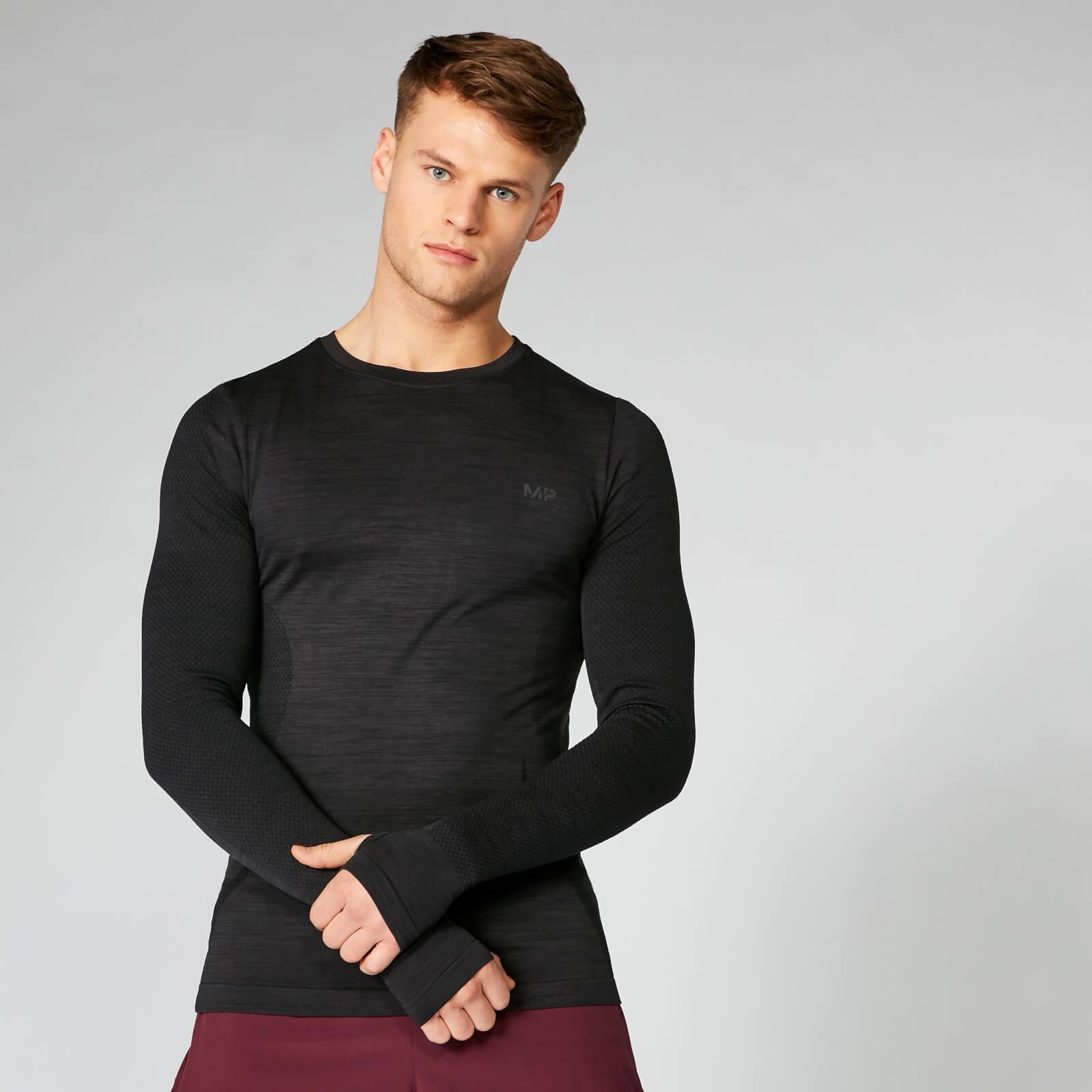 Myprotein Seamless Long Sleeve T-Shirt - Black - M