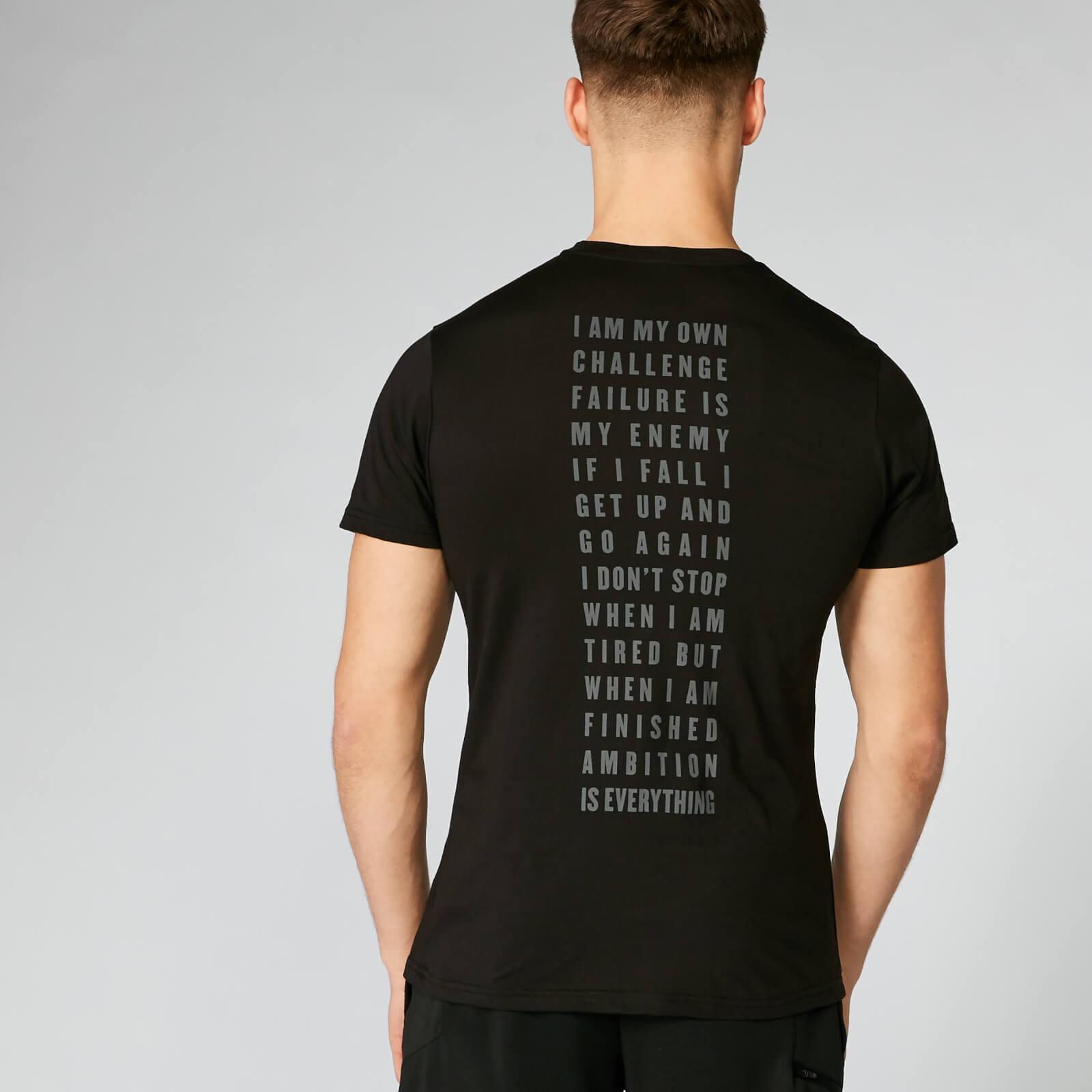 Myprotein Graphic T-Shirt - Black - L - Black