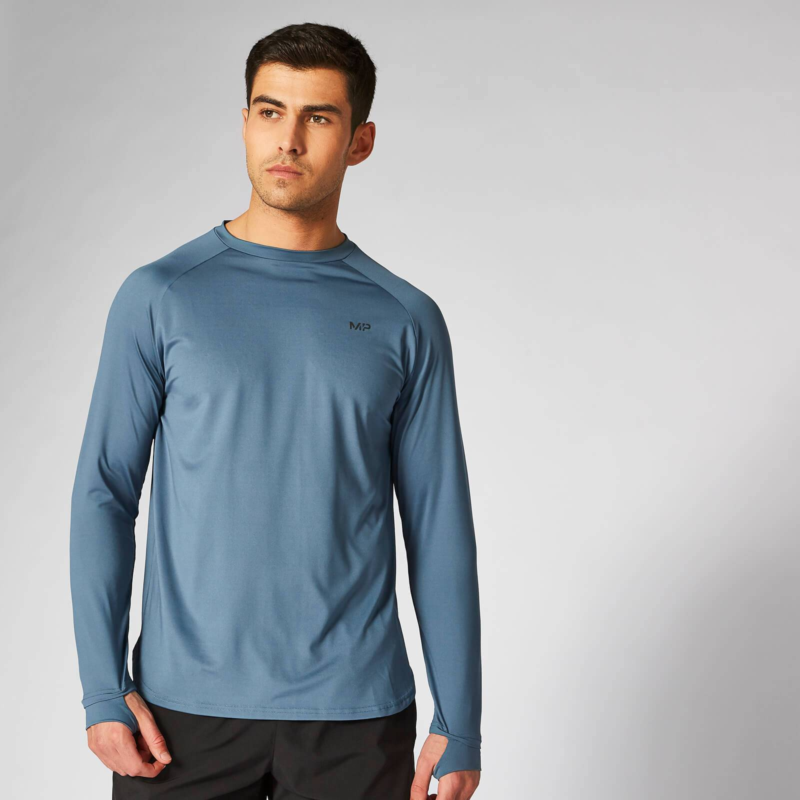 Myprotein Dry-Tech Infinity Long-Sleeve T-Shirt - Cadet Blue - M