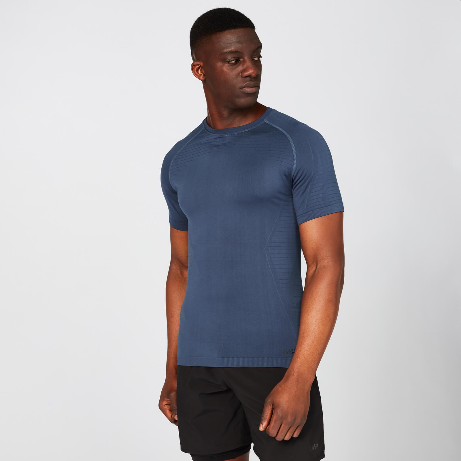 Myprotein Elite Seamless T-Shirt – Indigo - XXL