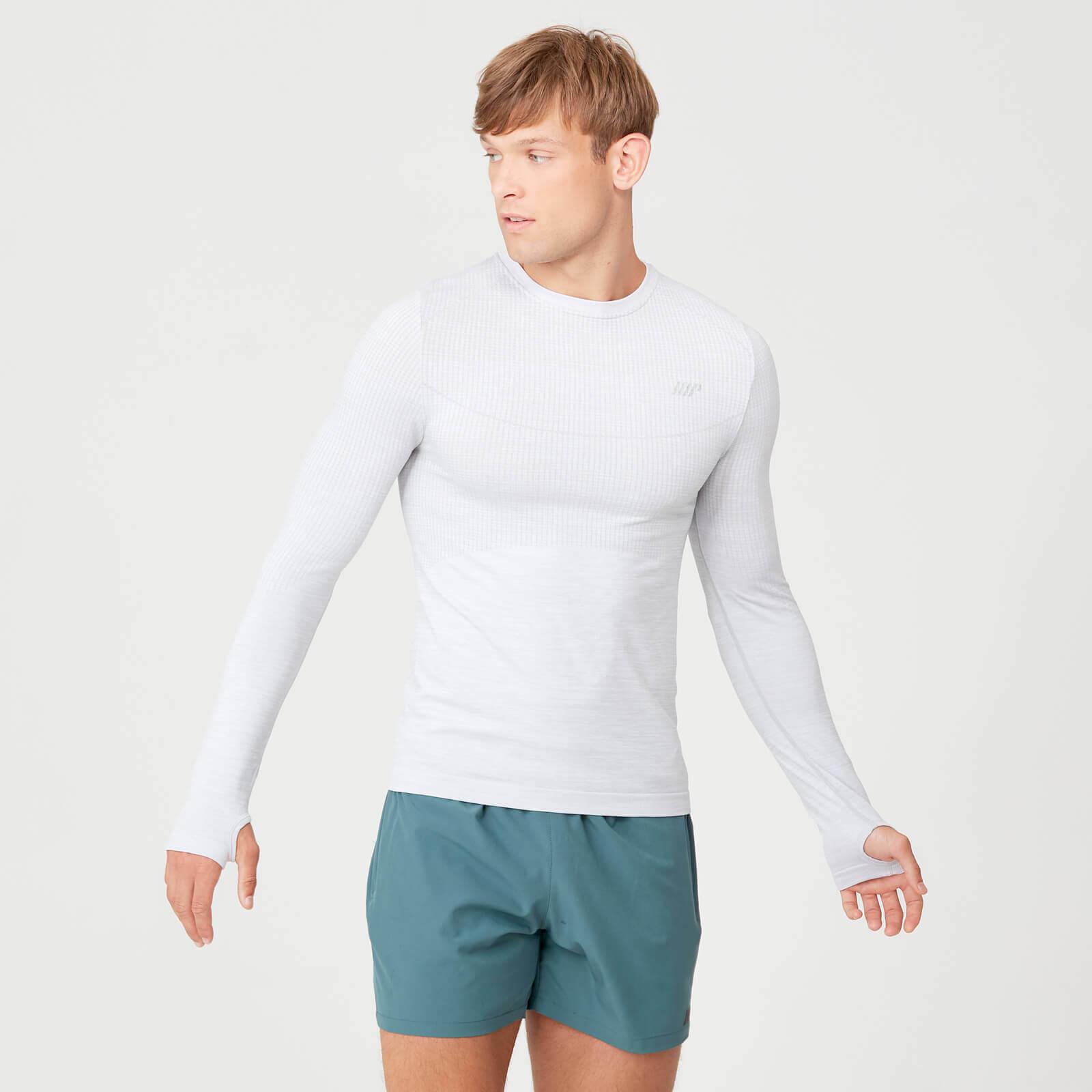 Myprotein Seamless Long Sleeve T-Shirt - Silver - XXL