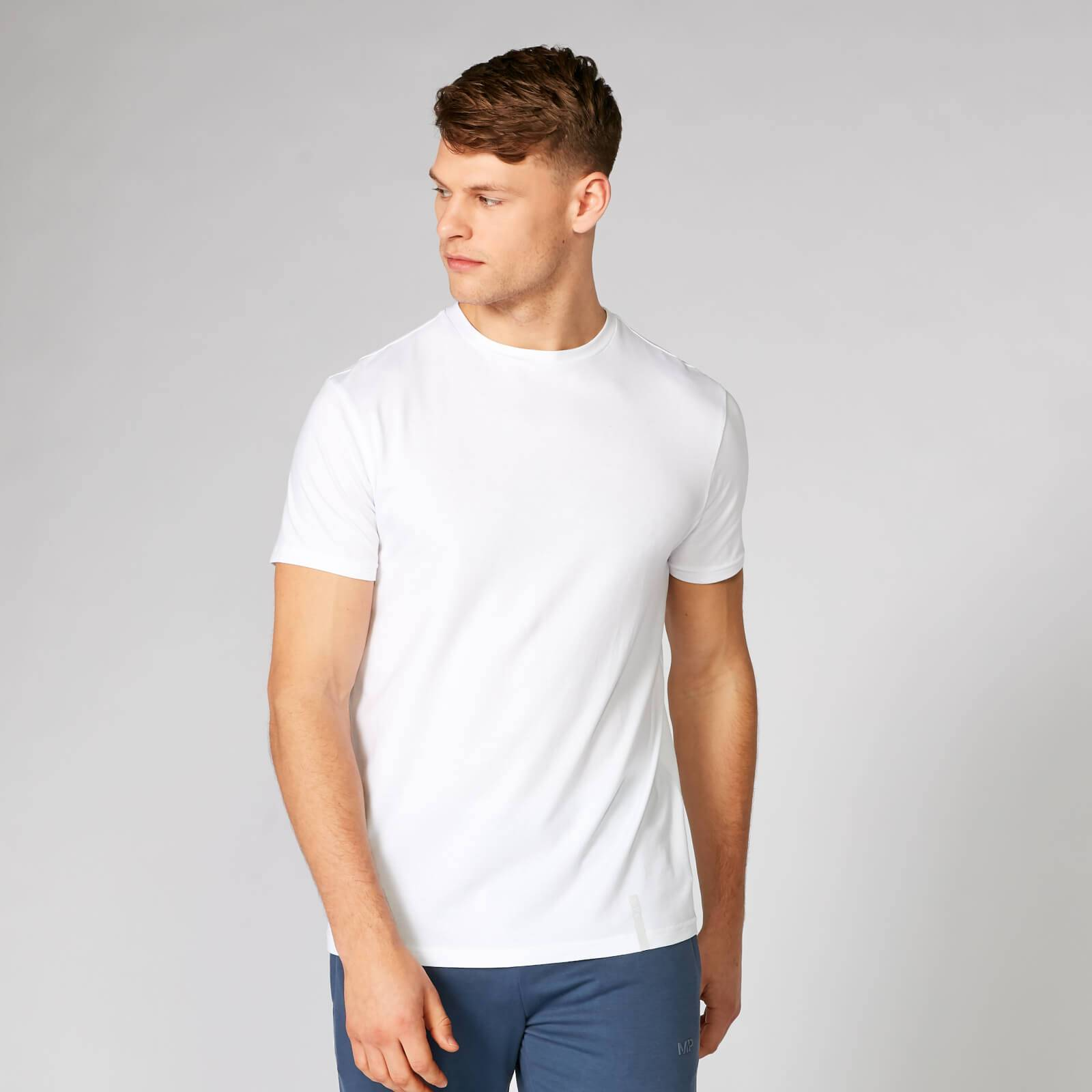Myprotein Luxe Classic Crew T-Shirt - White - M