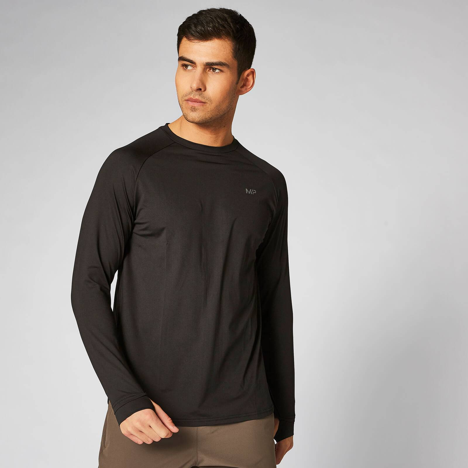Myprotein Dry-Tech Infinity Long-Sleeve T-Shirt – Black - XS