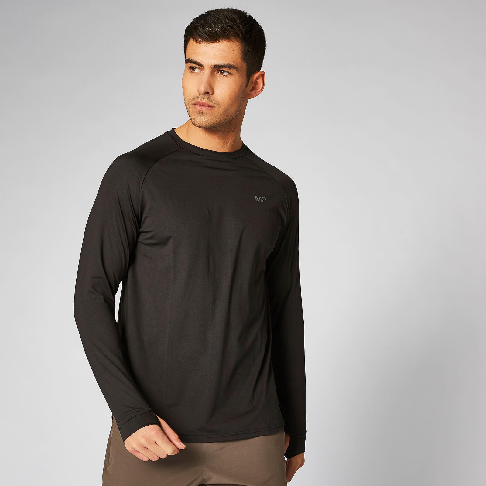 Myprotein Dry-Tech Infinity Long-Sleeve T-Shirt – Black - XS