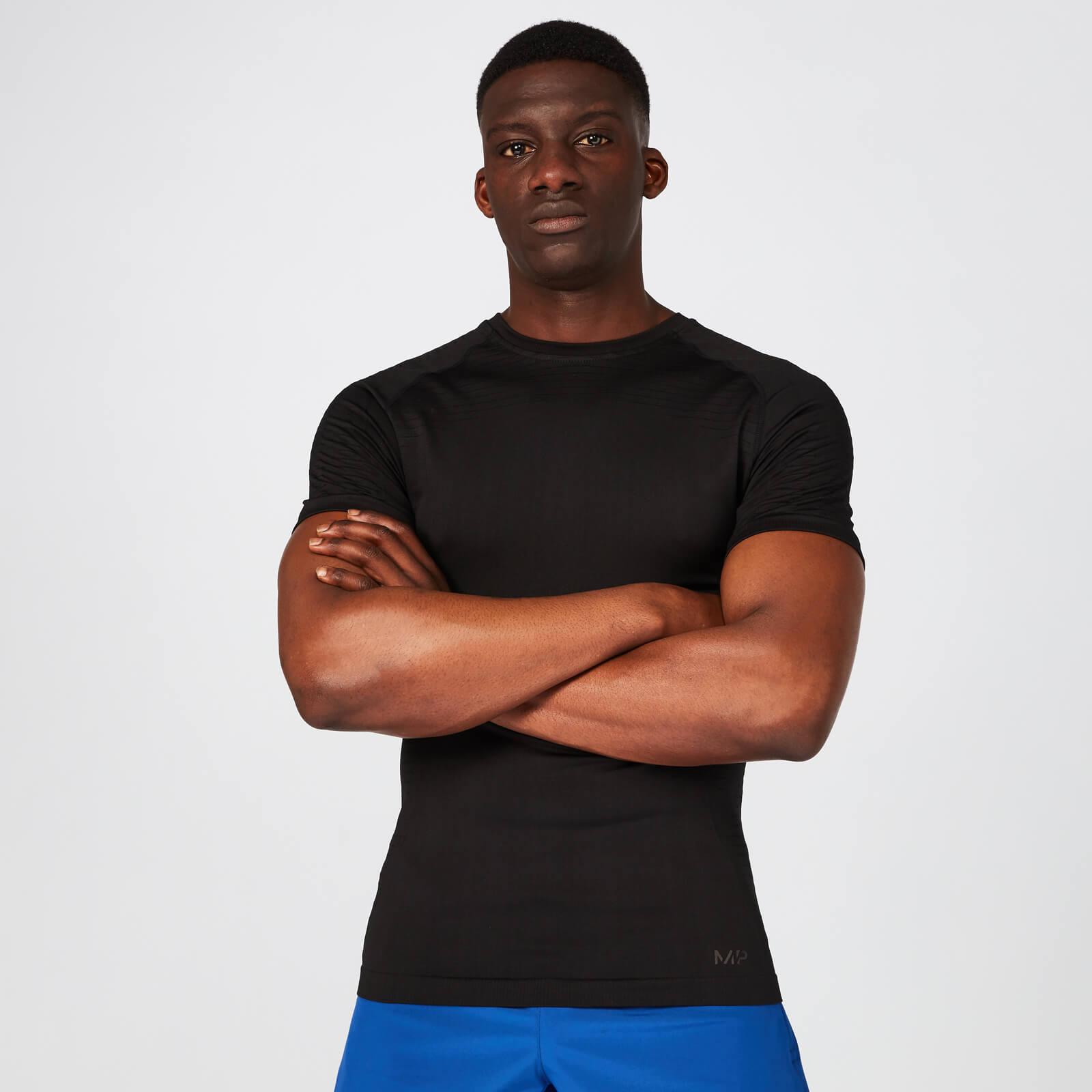 Myprotein Elite Seamless T-Shirt – Black - XL