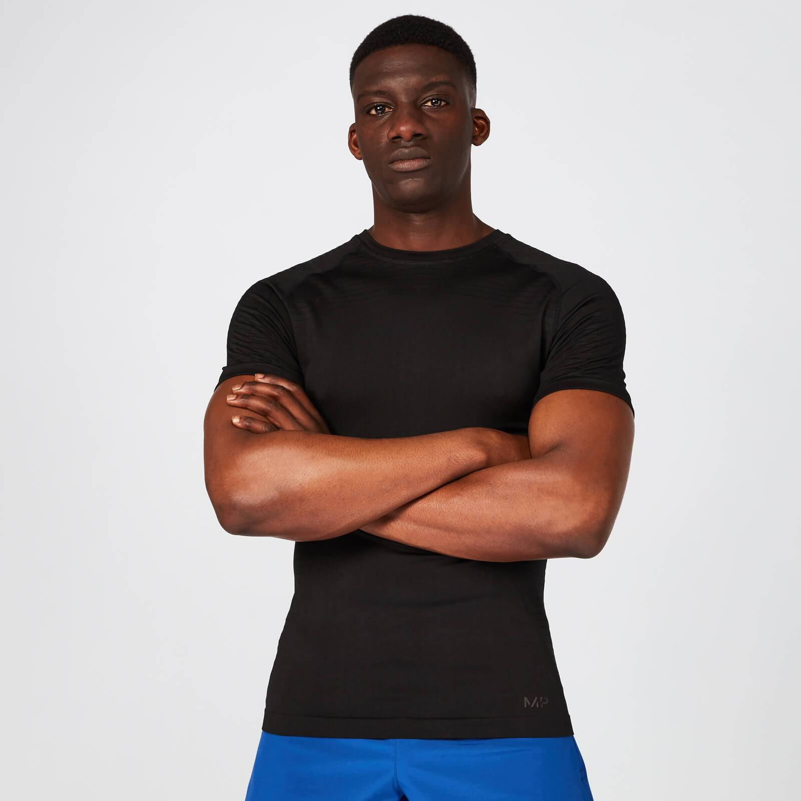 Myprotein Elite Seamless T-Shirt – Black - XS