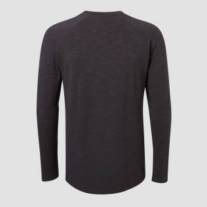 MP Men's Performance Long-Sleeve T-Shirt - Black Marl - XXS