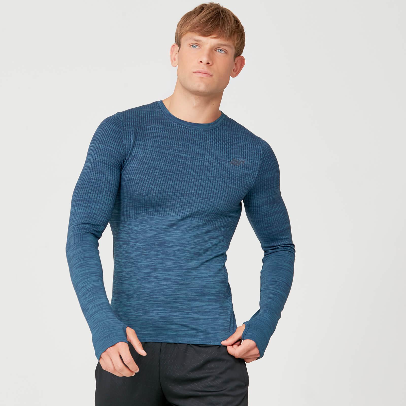 Myprotein Seamless Long Sleeve T-Shirt - Petrol Blue - S