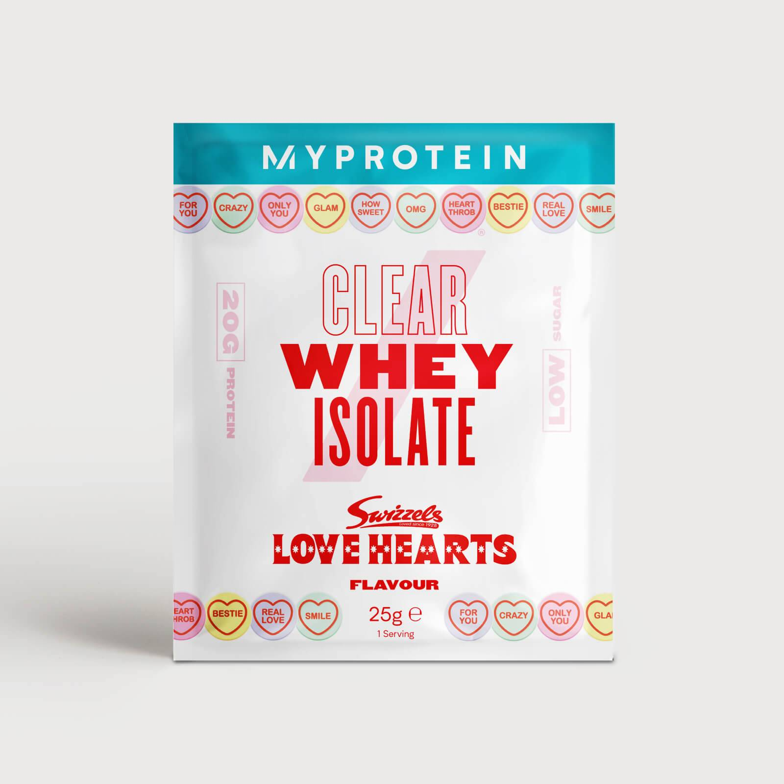 Myprotein Clear Whey Isolate – Swizzels Edition (Sample) - Love Hearts