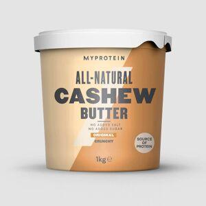 Myprotein All-Natural Cashew Butter - 1kg - Original - Crunchy