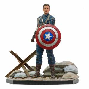 Iron Studios 1:10 Captain America The First Avenger Art Scale Statue MCU 10 Years Event Exclusive