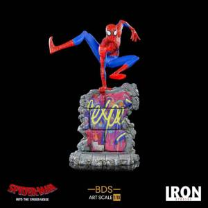 Iron Studios Spider-Man: Into the Spider-Verse BDS Art Scale Deluxe Statue 1/10 Peter B. Parker