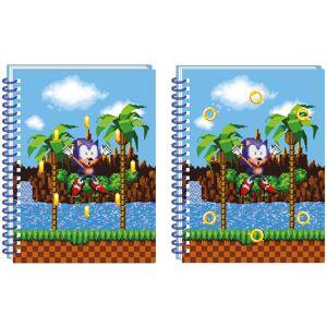 SEGA Sonic The Hedgehog A5 Lenticular Notebook