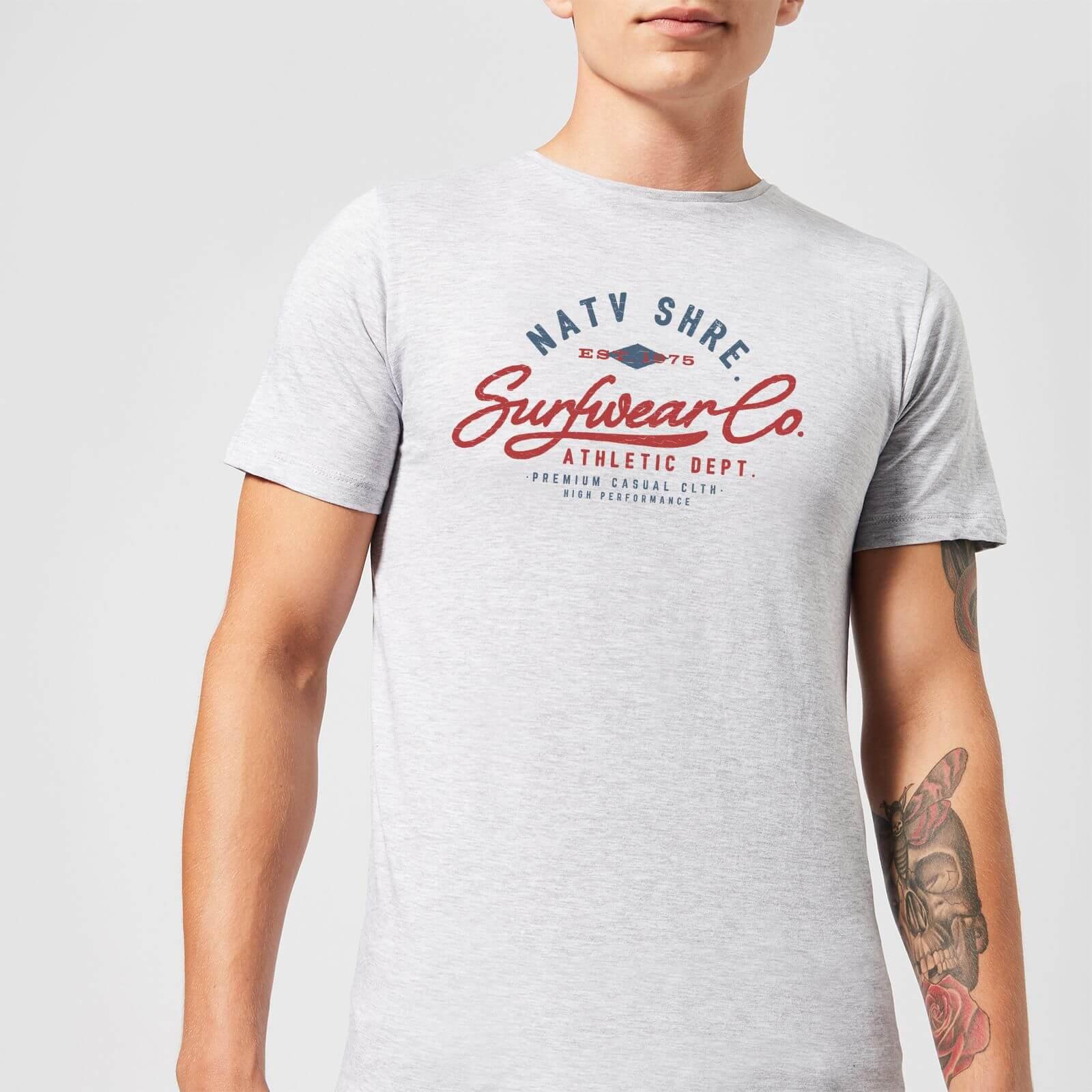 Native Shore Athletic DEPT. Men's T-Shirt - Grey - 3XL - Grey