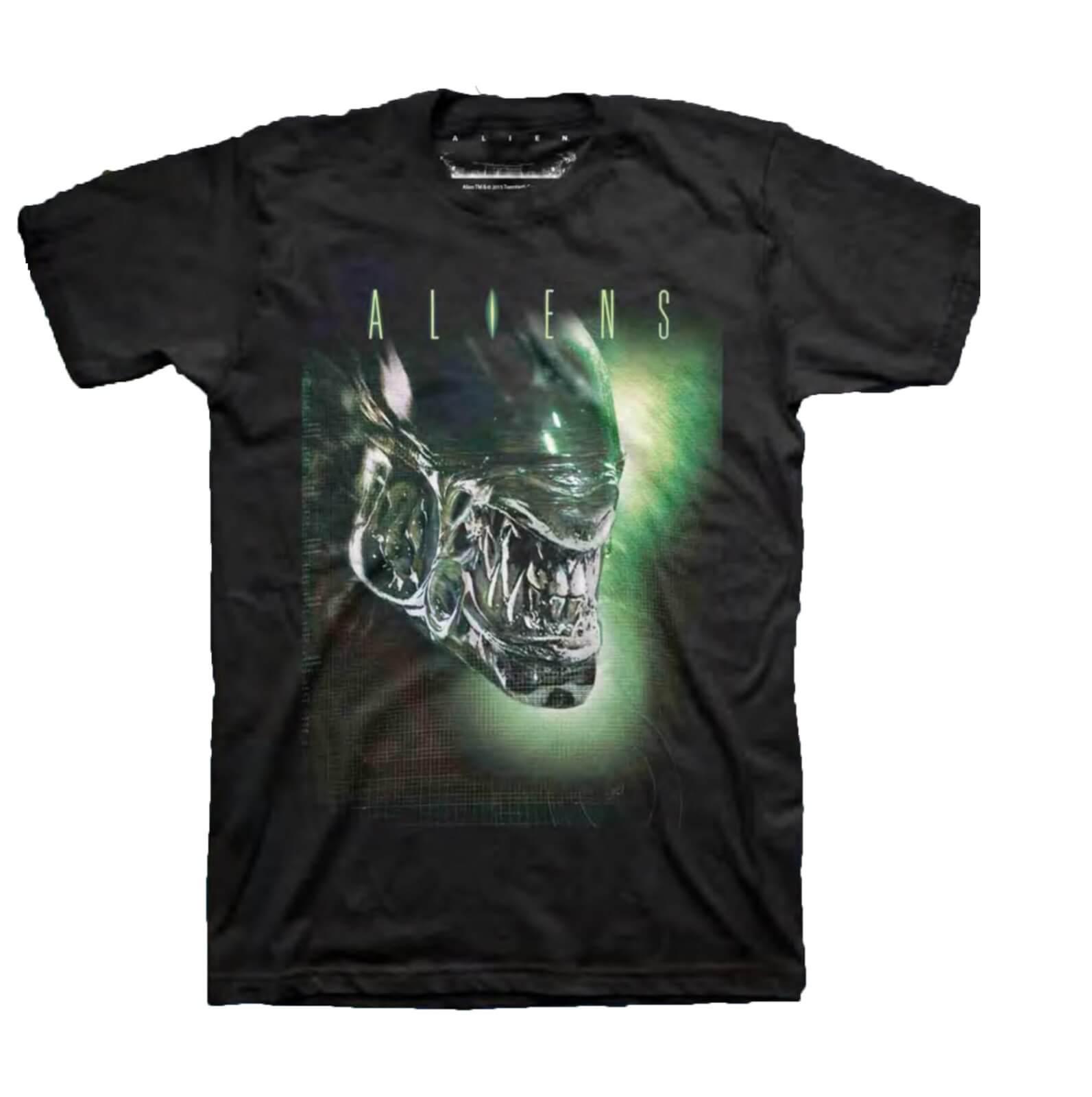 Geek Clothing Aliens Xenomorph Men's Black T-Shirt - S - Black