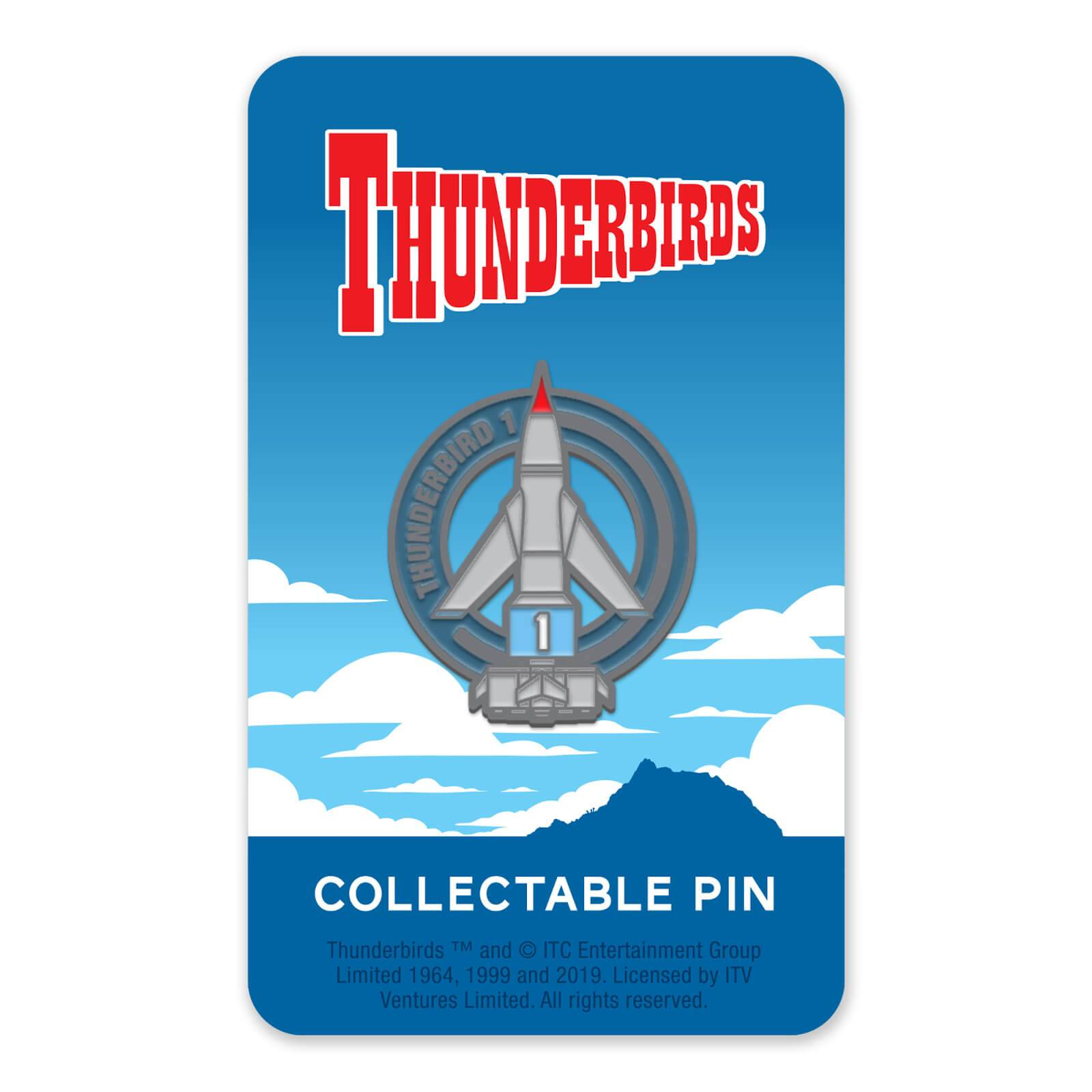 Zavvi Gallery Thunderbirds Enamel Pin Badge 1