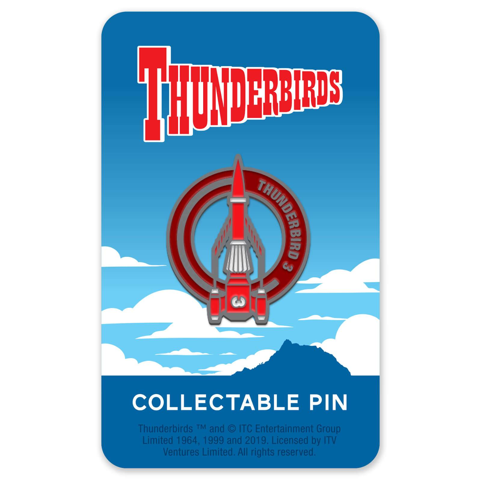 Zavvi Gallery Thunderbirds Enamel Pin Badge 3