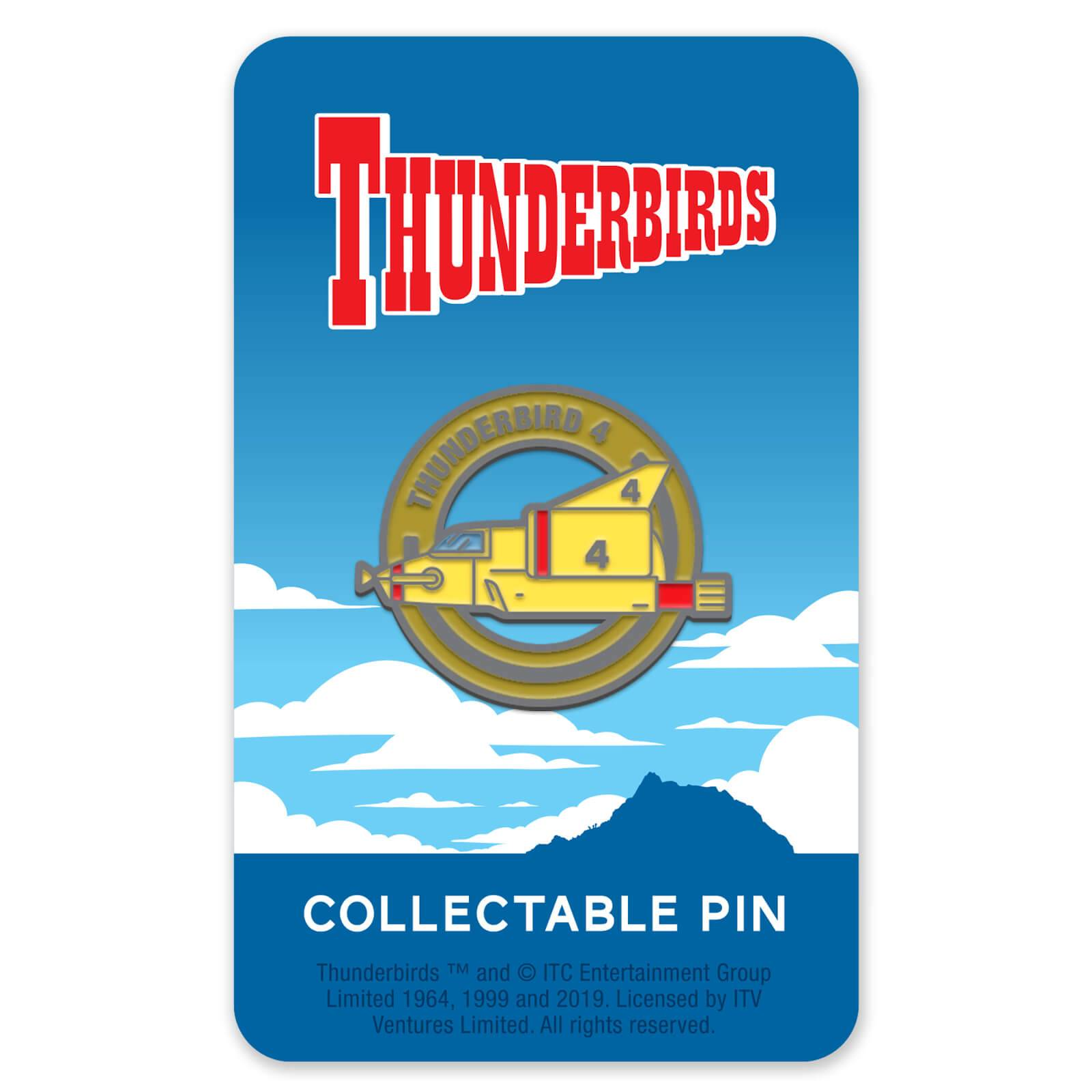 Zavvi Gallery Thunderbirds Enamel Pin Badge 4
