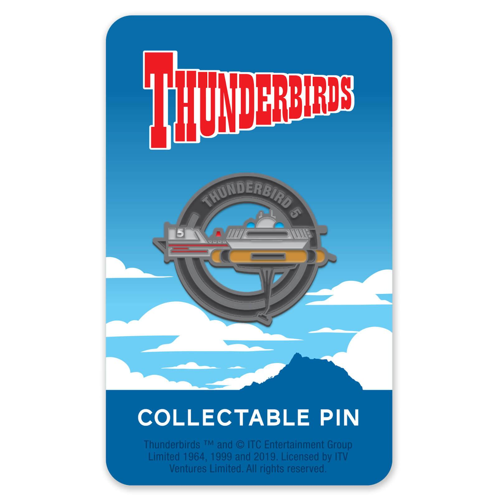 Zavvi Gallery Thunderbirds Enamel Pin Badge 5