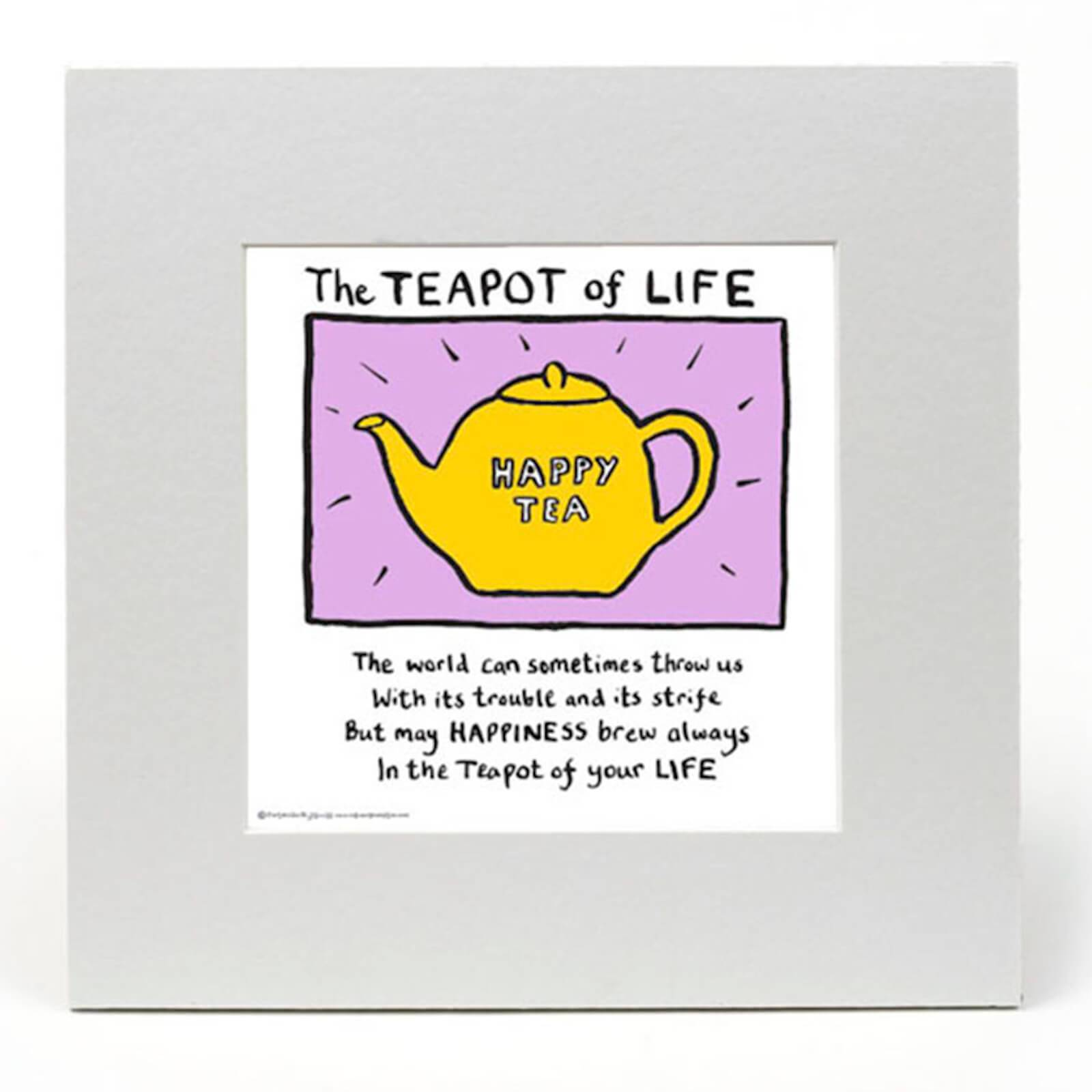 Edward Monkton The Teapot of Life by Edward Monkton