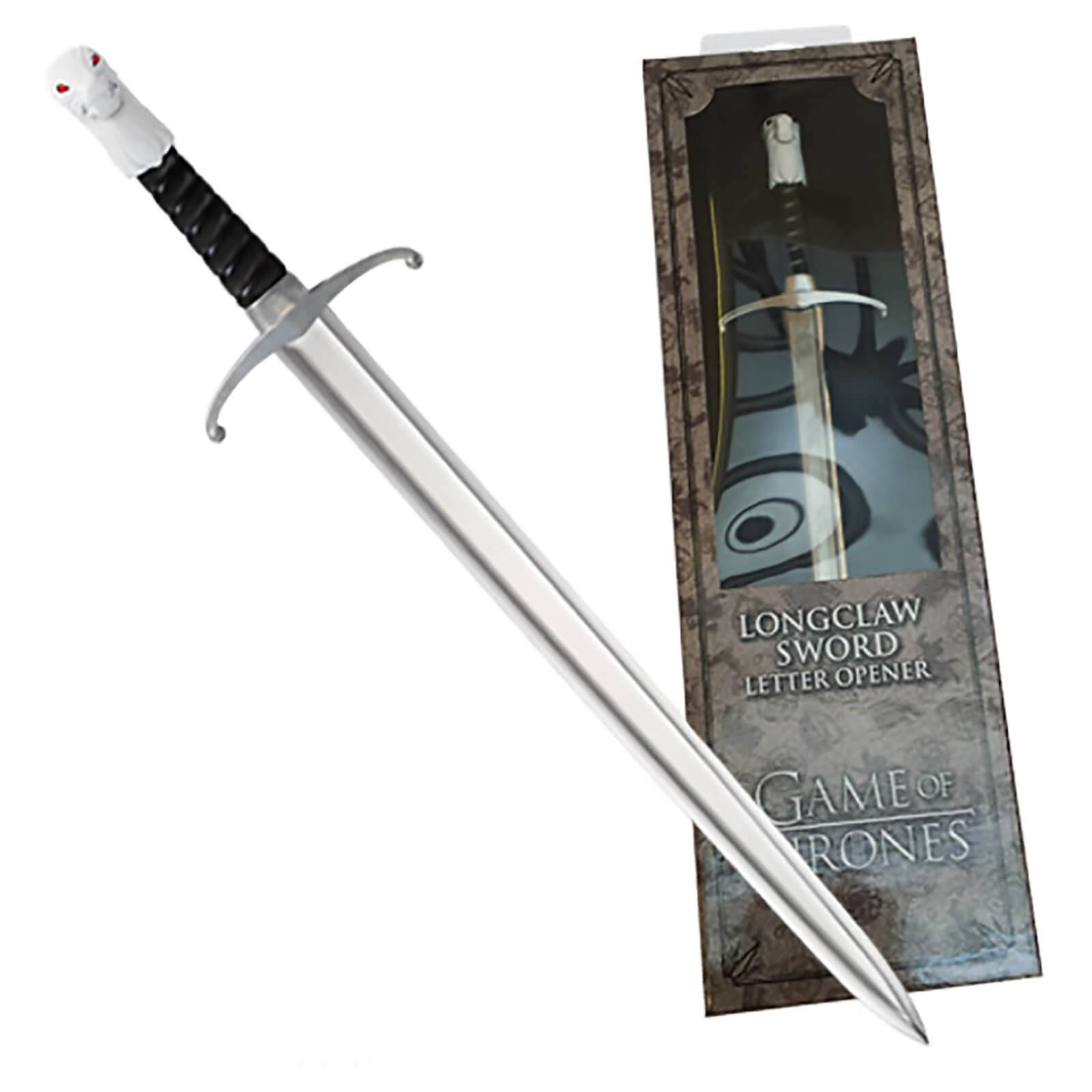 Noble Collection Game of Thrones Longclaw Letter Opener