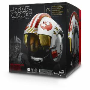 Hasbro Black Series Star Wars Luke Skywalker Battle Simulation Helmet - Premium Electronic Replica