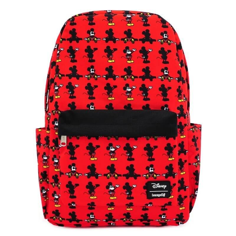 Loungefly Disney Mickey Parts Aop Nylon Backpack