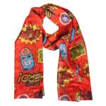 Difuzed Marvel - Comics Woven Fashion Scarf with All Over Print