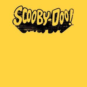 Scooby Doo Retro Mono Logo Men's T-Shirt - Yellow - L - Yellow