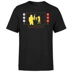 Star Wars Stormtrooper Targeting Computer Men's T-Shirt - Black - M - Black