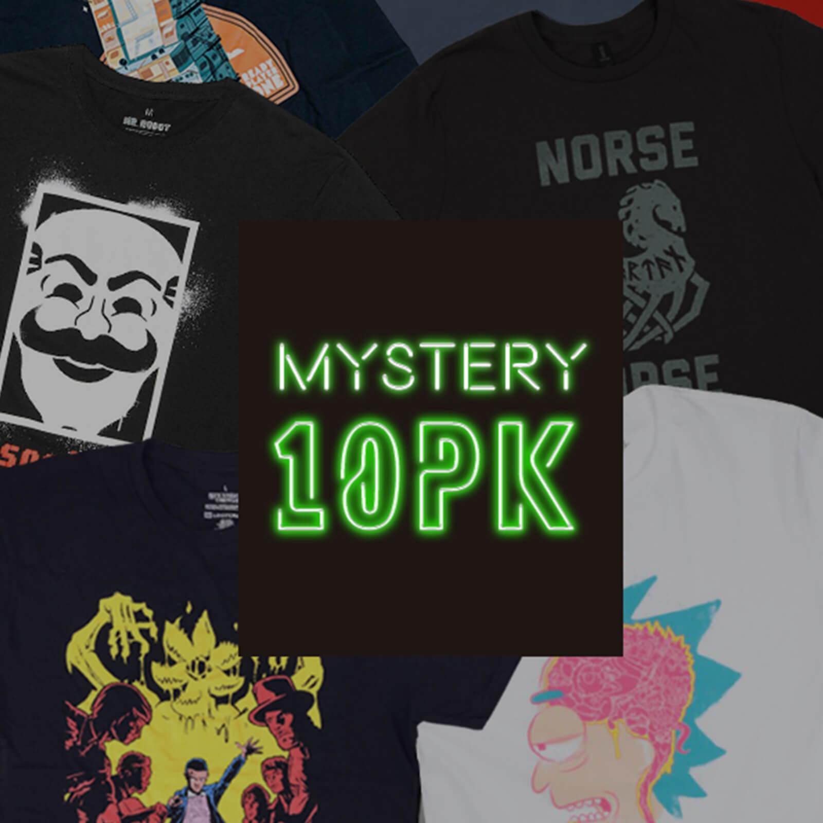 Mystery Geek Collection Mystery Geek T-Shirt - 10-Pack - Men's - XXL