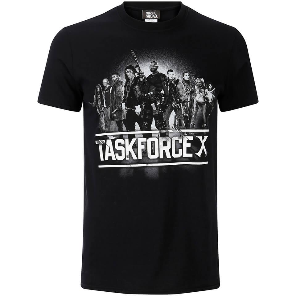 Geek Clothing DC Comics Men's Suicide Squad Taskforce X T-Shirt - Black - XL - Black