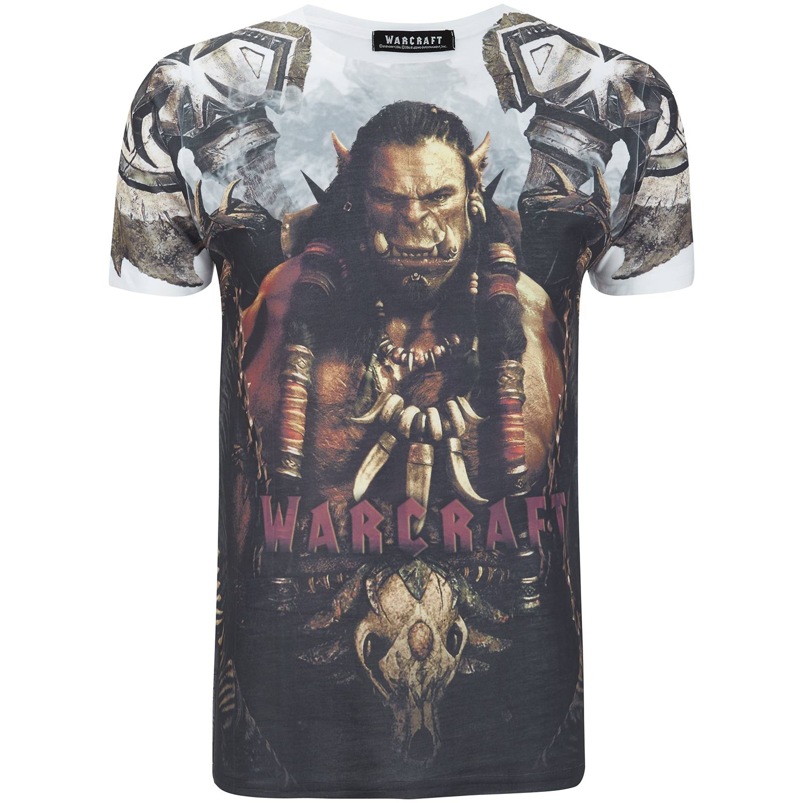 Geek Clothing Warcraft Men's Durotan T-Shirt - White - XL - White
