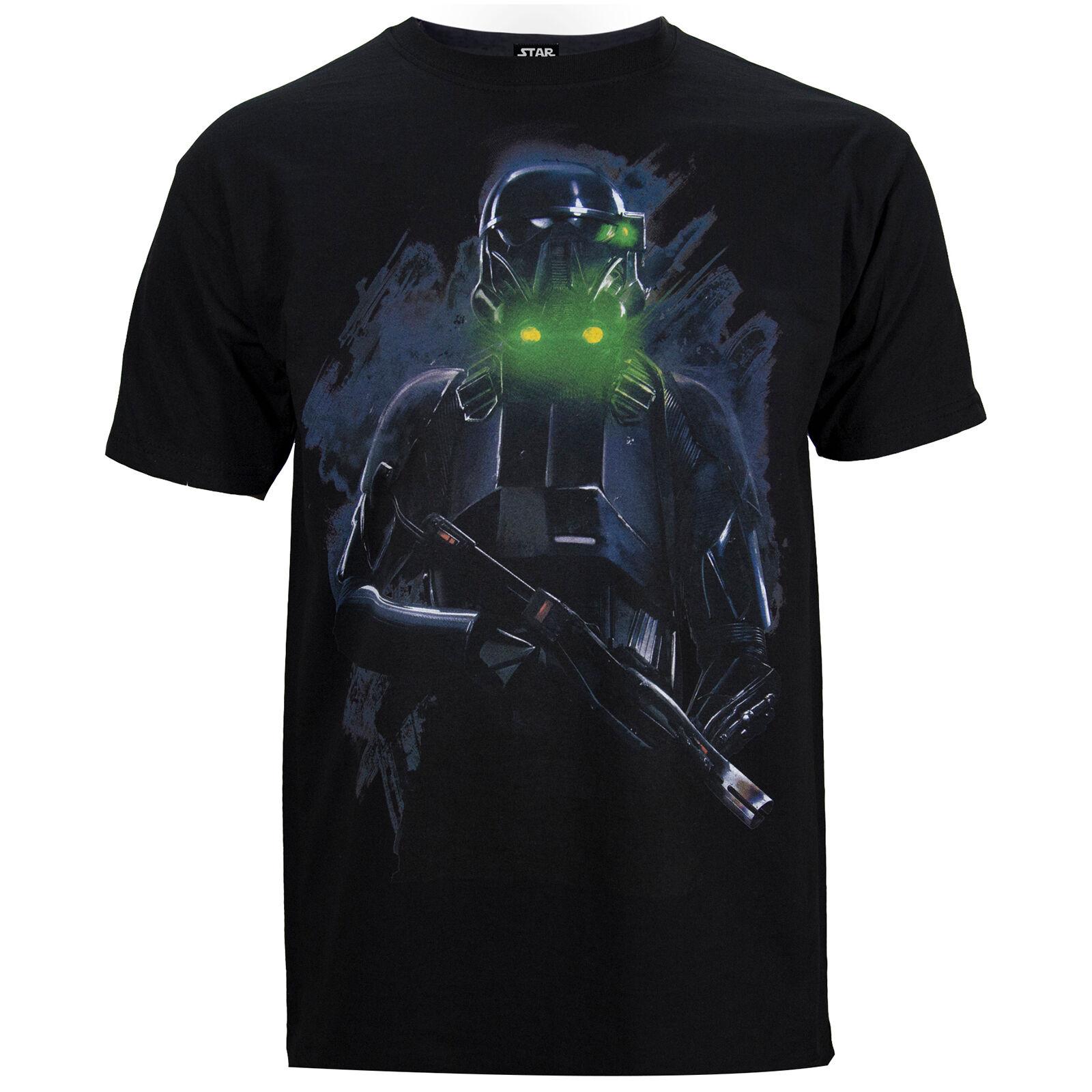 Geek Clothing Star Wars Rogue One Men's Death Trooper T-Shirt - Black - L - Black