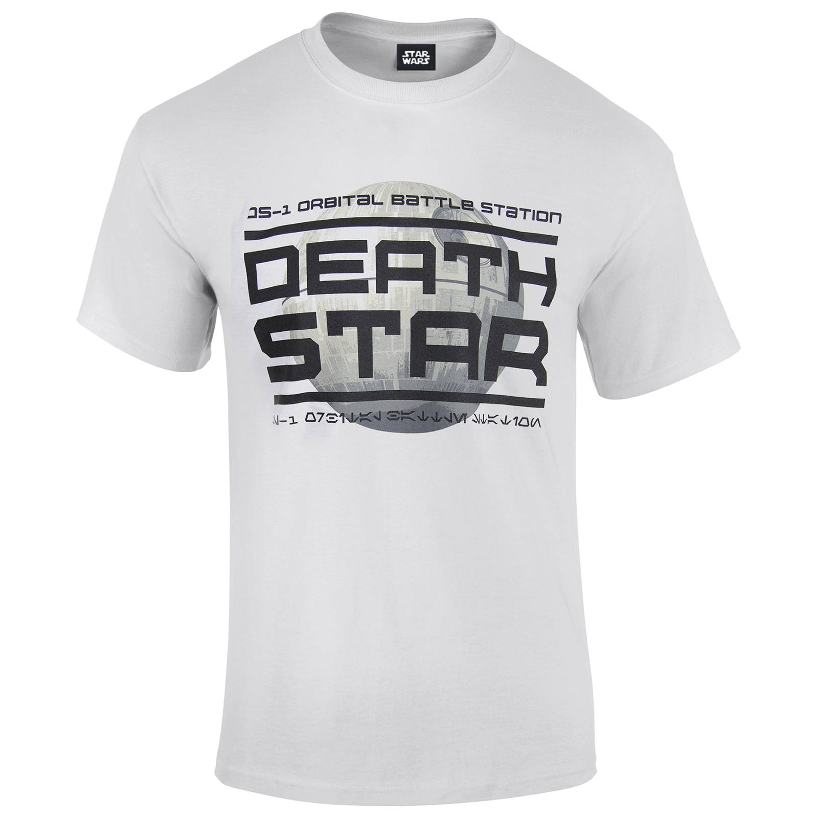 Geek Clothing Star Wars Rogue One Men's Death Star Logo T-Shirt - White - L - White