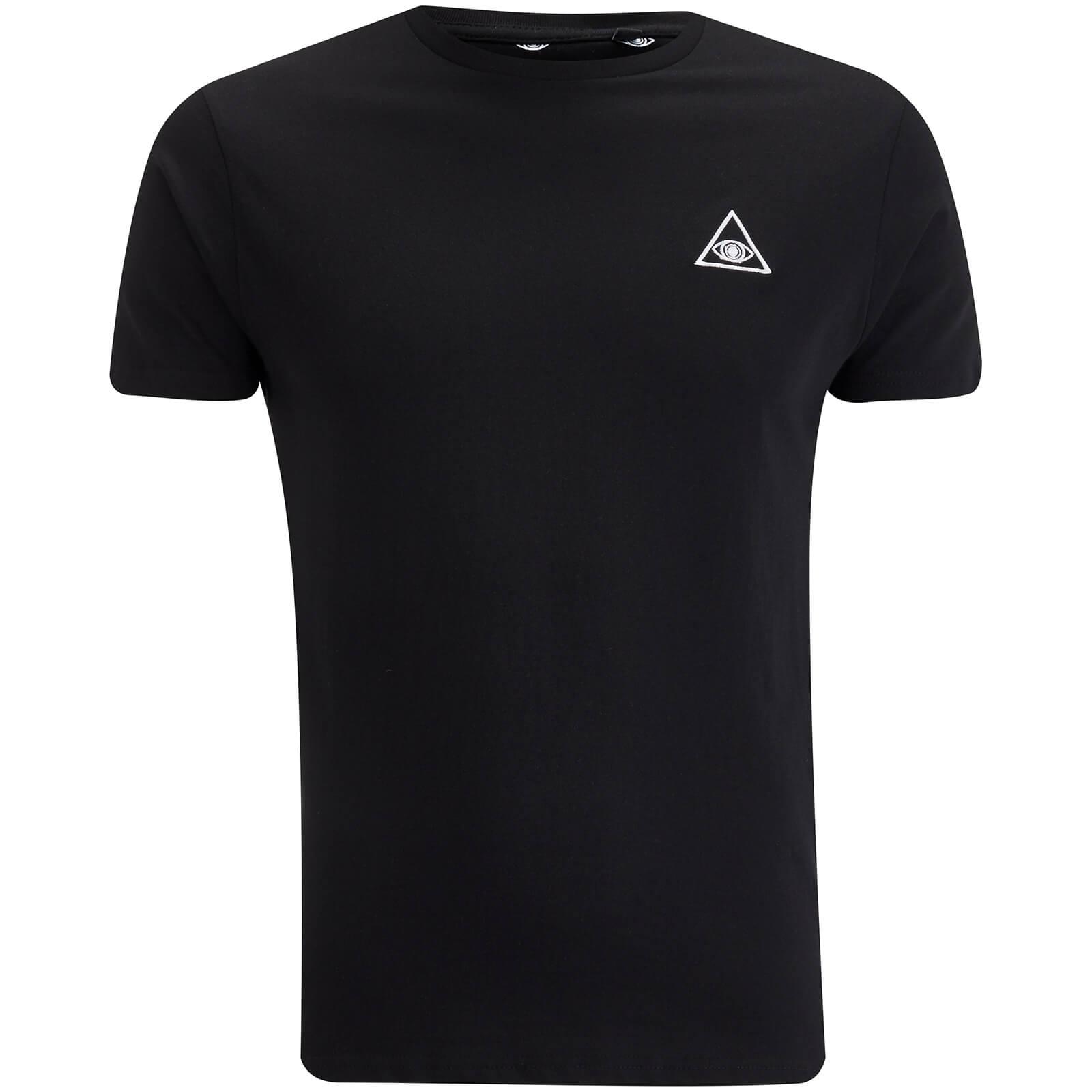 Brave Soul Men's Eye T-Shirt - Black - M - Black