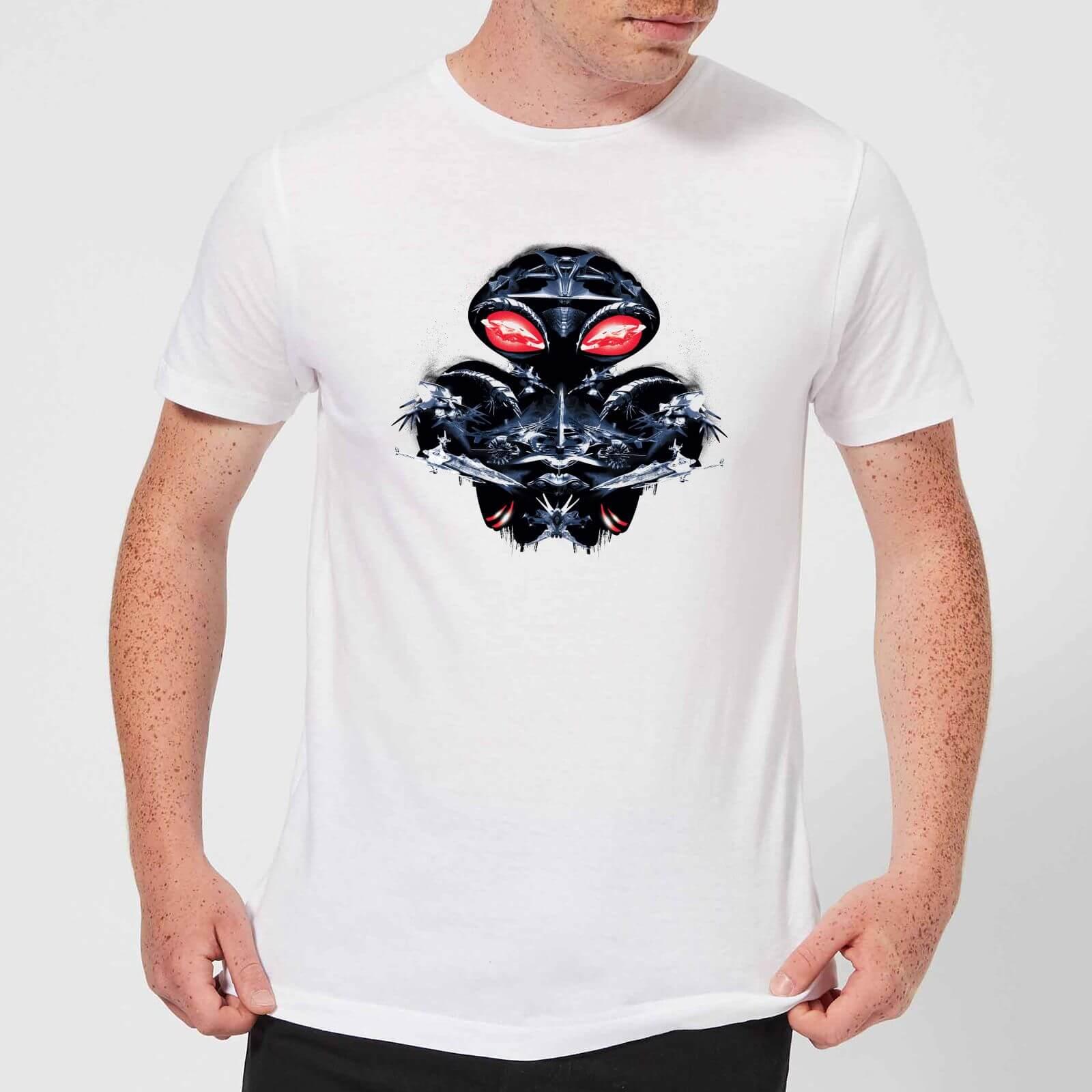 DC Comics Aquaman Black Manta Sea At War Men's T-Shirt - White - L - White