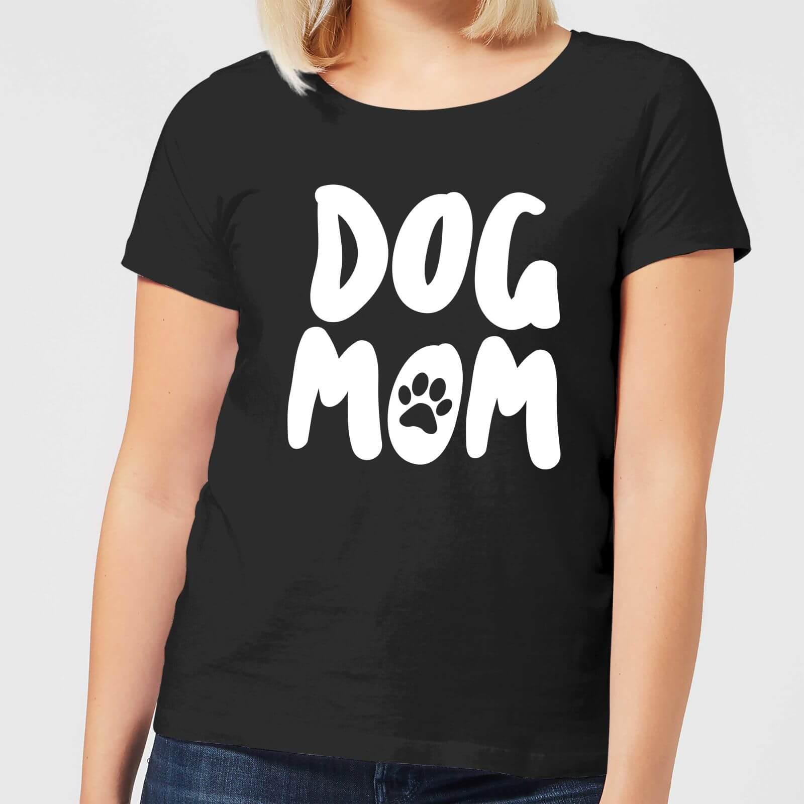 By IWOOT Dog Mom Women's T-Shirt - Black - XS - Black