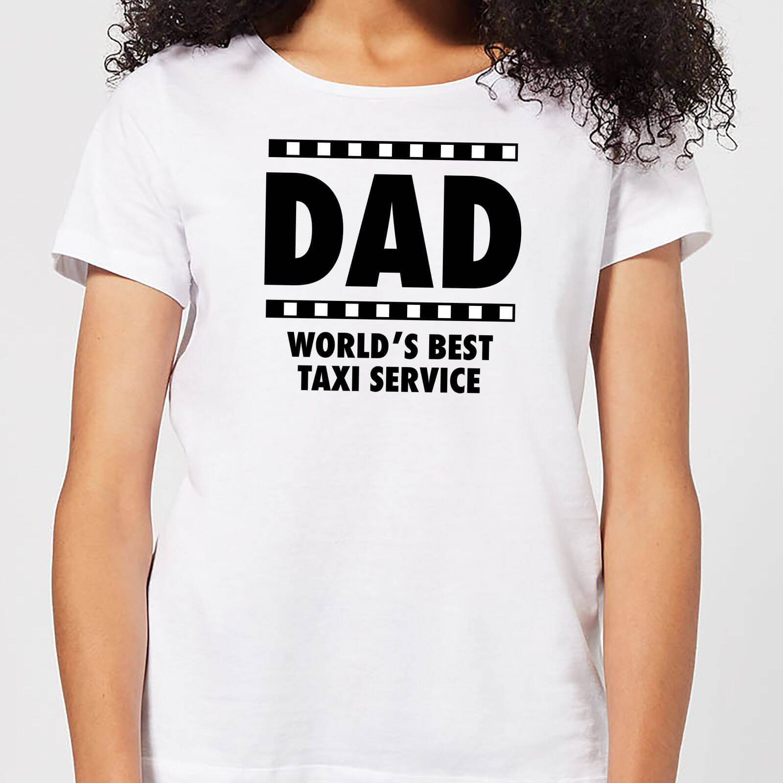 By IWOOT Dad Taxi Service Women's T-Shirt - White - 5XL - White