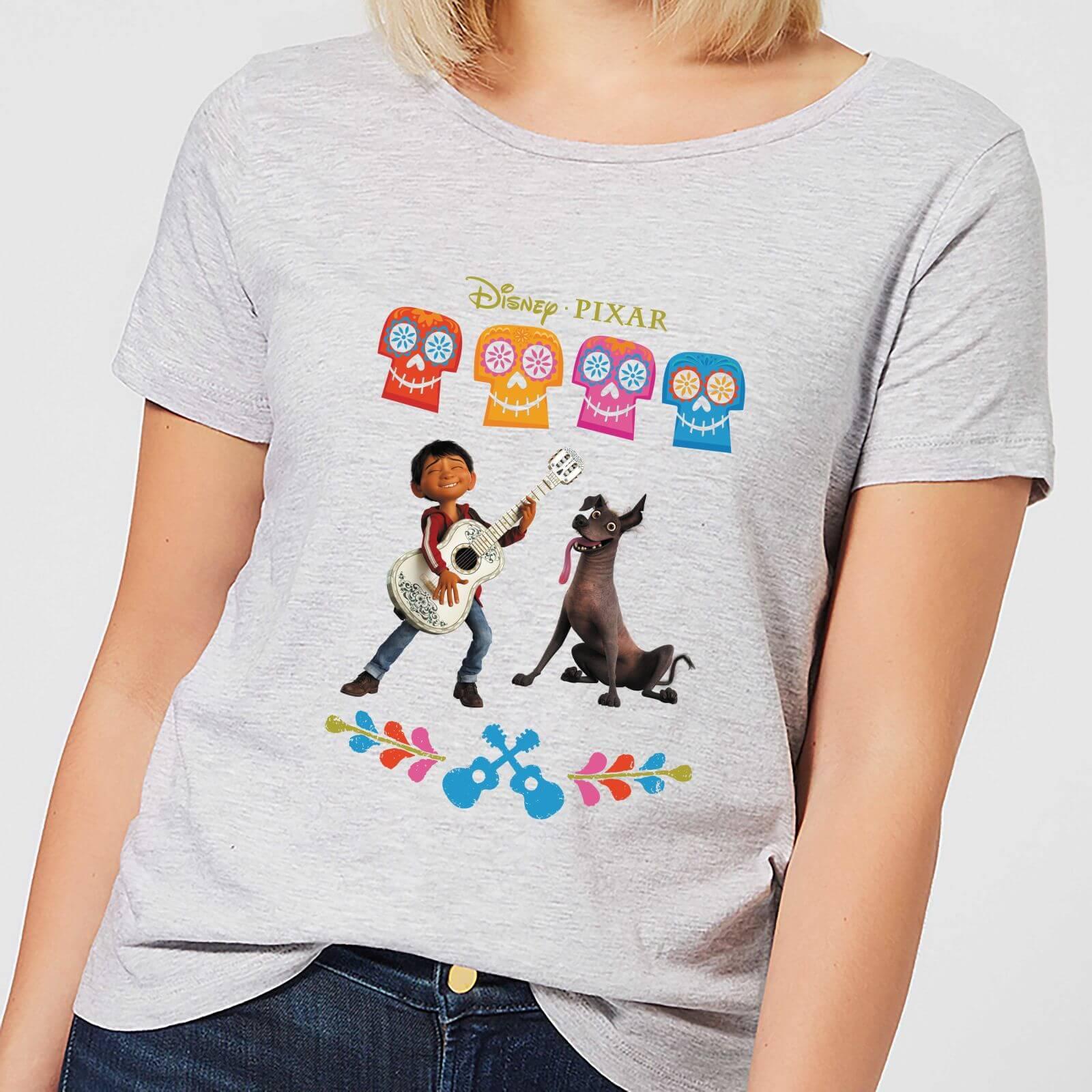 Disney Coco Miguel Logo Women's T-Shirt - Grey - 4XL - Grey