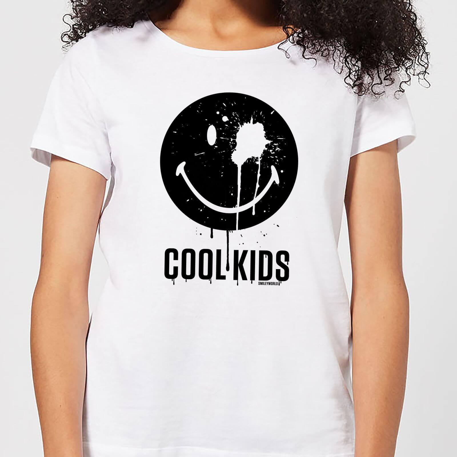 Smiley World Slogan Cool Kids Women's T-Shirt - White - L - White