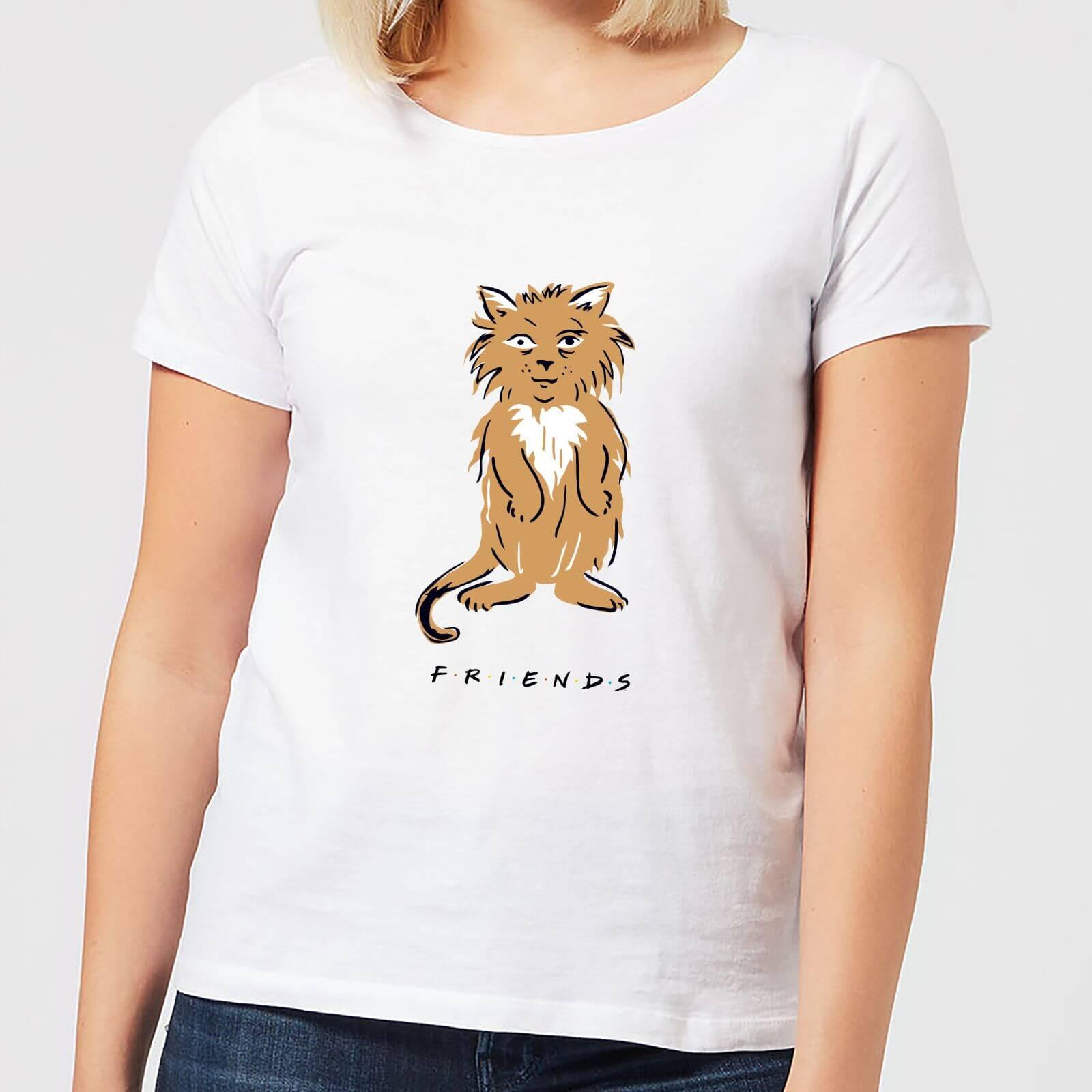 Friends Smelly Cat Women's T-Shirt - White - XL - White