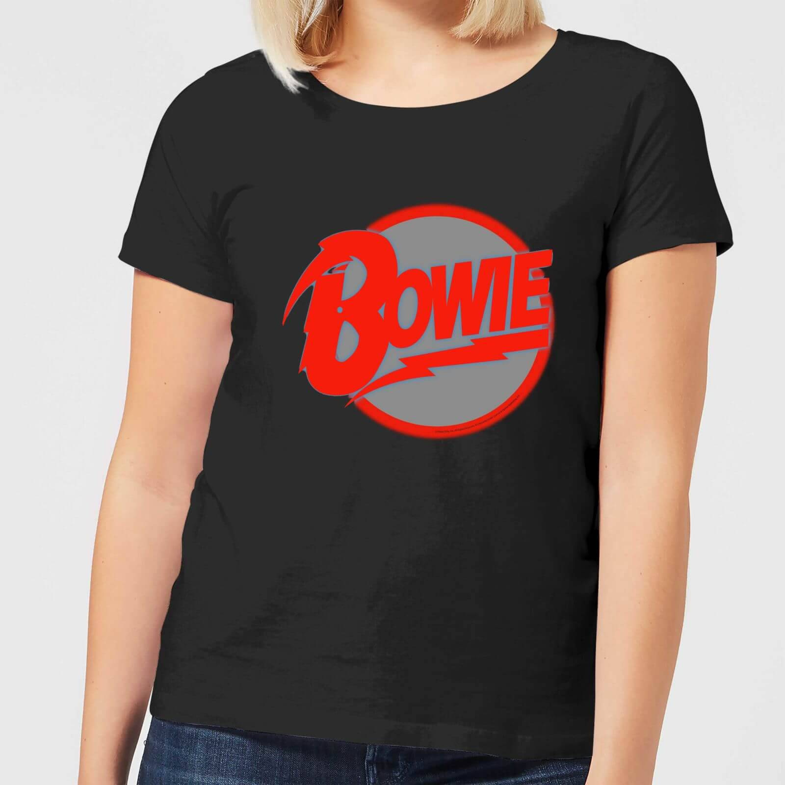 David Bowie Diamond Dogs Women's T-Shirt - Black - S - Black