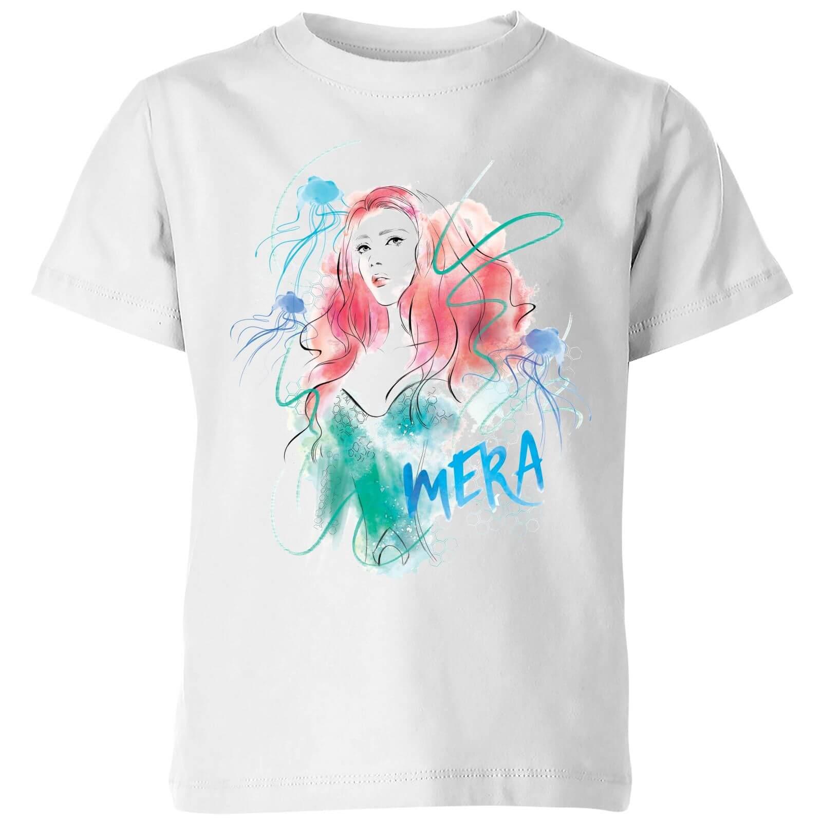 DC Comics Aquaman Mera Kids' T-Shirt - White - 3-4 Years - White