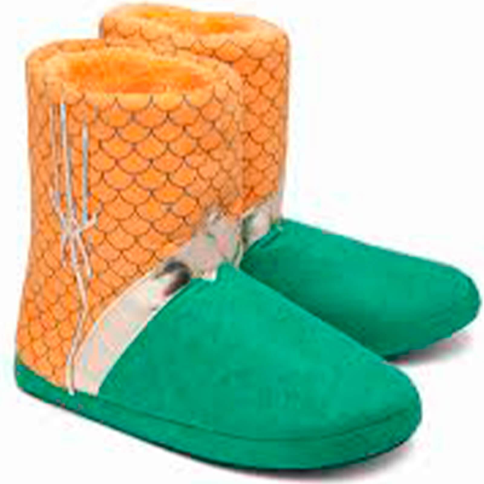 DC Comics Aquaman Uniform Slippers - S-M