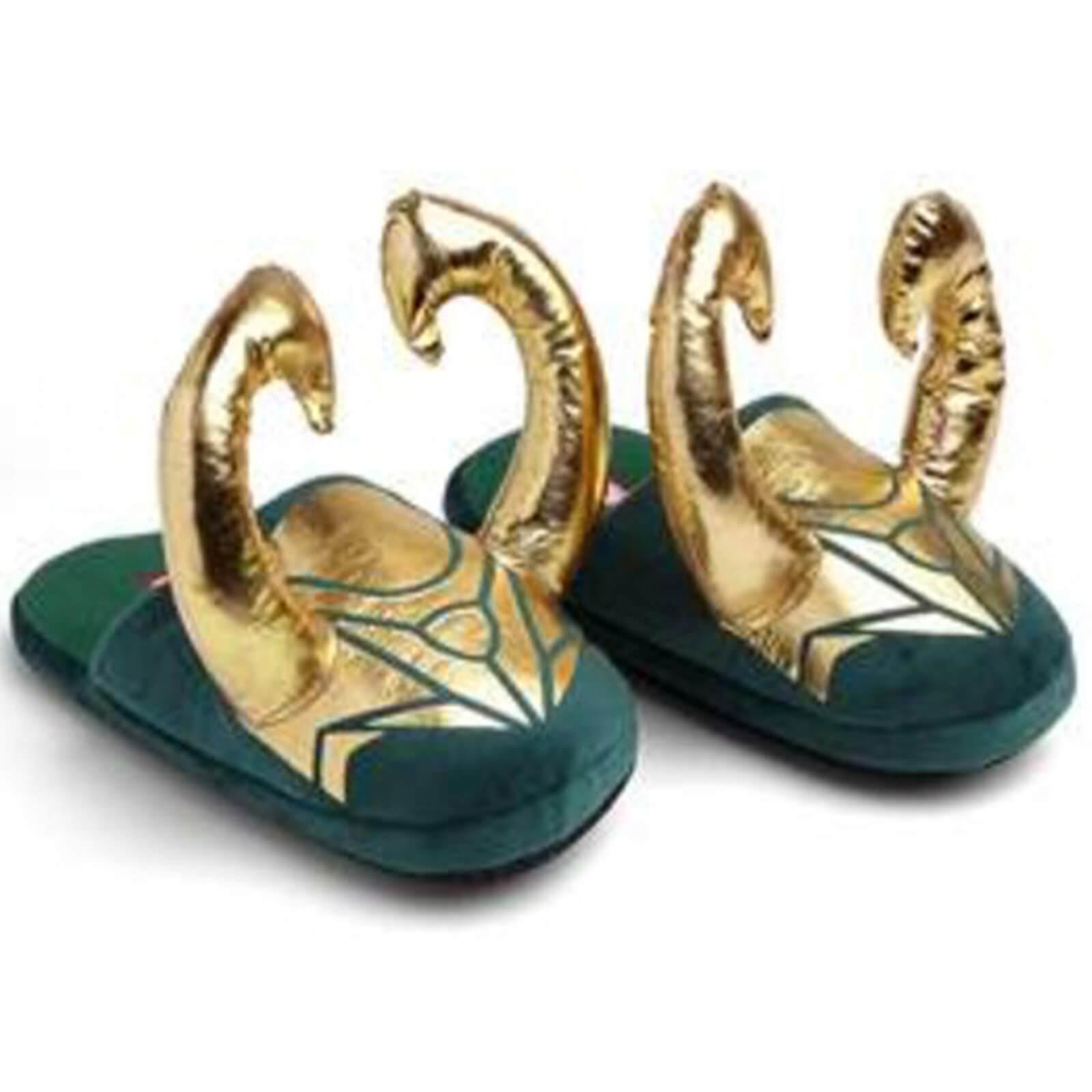 Marvel Loki Horned Slippers - L-XL