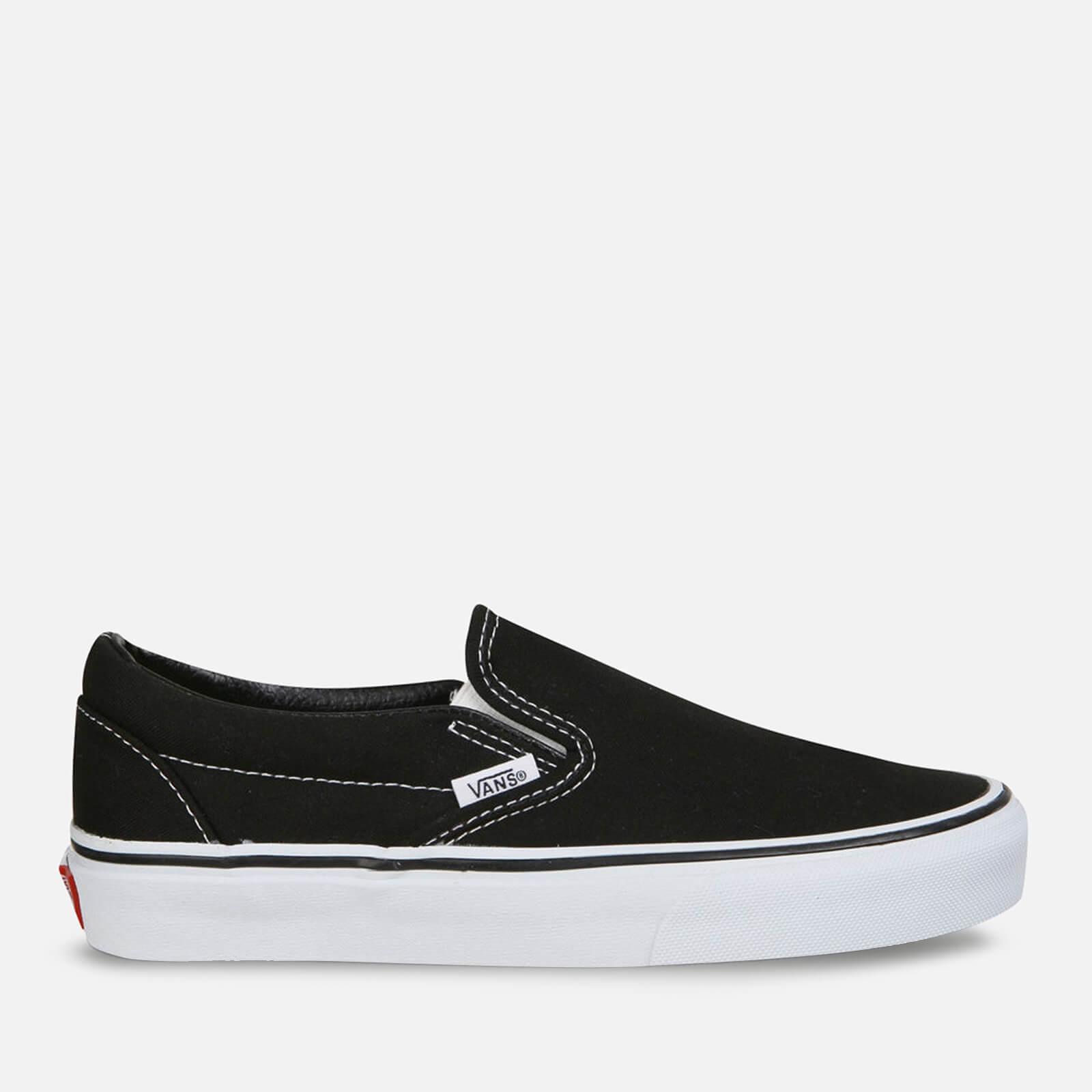 Vans Classic Slip-On Trainers - Black - UK 8