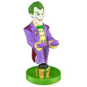 Cable Guys DC Comics Collectable Joker 8 Inch Cable Guy Controller and Smartphone Stand