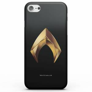 DC Comics Aquaman Gold Logo Phone Case for iPhone and Android - Samsung S9 - Snap Case - Matte
